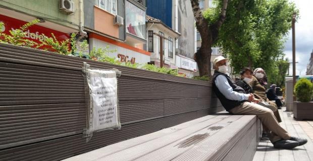 Hamamyolu'daki şeritler kaldırıldı