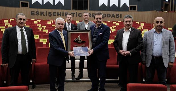 Hisarcıklıoğlu'ndan EFKM'ye ziyaret