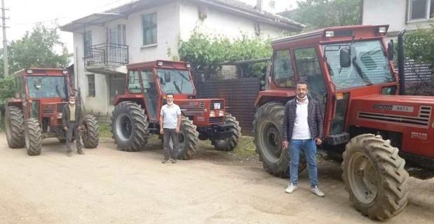 ORKÖY desteğiyle traktörlerine kavuştular