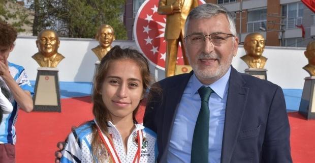 GSK sporcusu dünya şampiyonasında