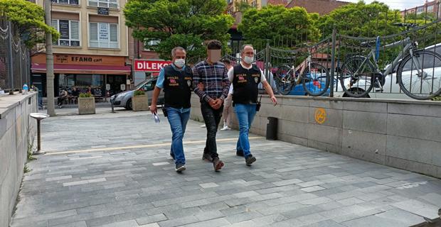 Kapakları çalan şüpheli gözaltına alındı
