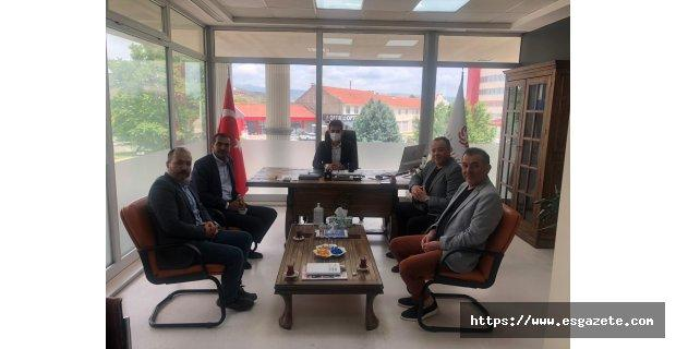 Mustafa Başpınar'a hayırlı olsun ziyareti