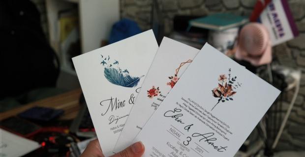 100 kişilik düğüne bin davetiye