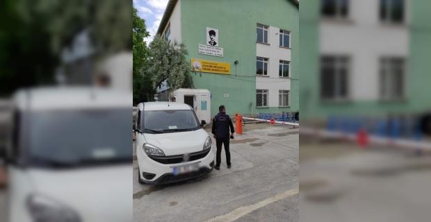 Polisten okul önlerinde güvenlik