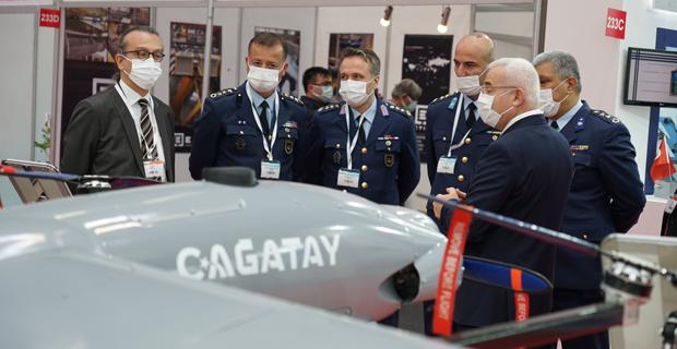 Savunma ve havacılıktaki son teknoloji görücüye çıktı