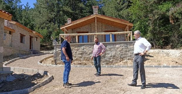 Taş konak evleri hizmete açılıyor
