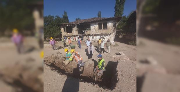 Aizanoi Antik Kenti'ndeki kazı çalışmaları aralıksız devam ediyor