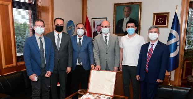 Anadolu Üniversitesi'ne iş birliği ziyareti