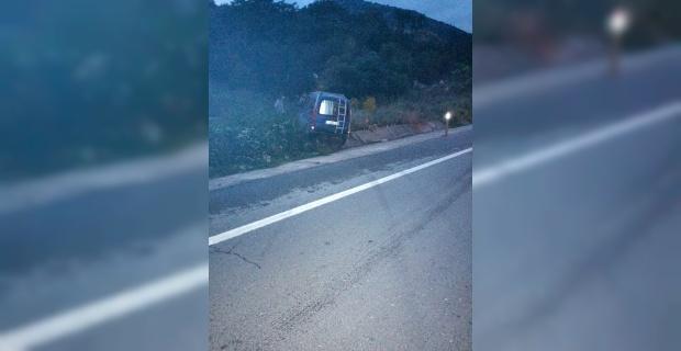 Bilecik'te araç ormana daldı: 1 yaralı