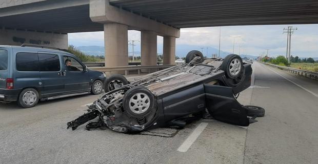 Bursa-Ankara karayolunda kaza: 4 yaralı