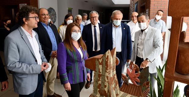 CHP Genel Başkan Yardımcıları Tepebaşı'nda