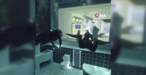 Dünyanın en derin havuzu Duabi'de meraklılarını bekliyor