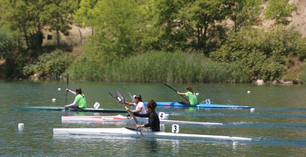 Durgunsu kano yarışları başlıyor