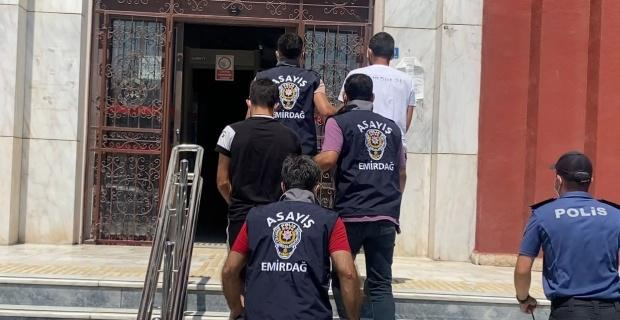 Fransa'dan Emirdağ'a uyuşturucu getiren gurbetçiler polis tarafından yakalandı