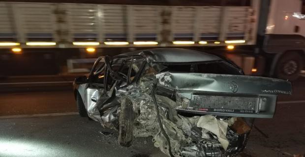 Gediz'de trafik kazası; 5 yaralı