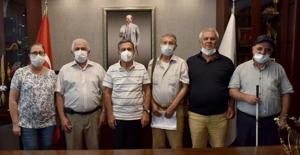 GÖRSEM'den Başkan Ataç'a ziyaret