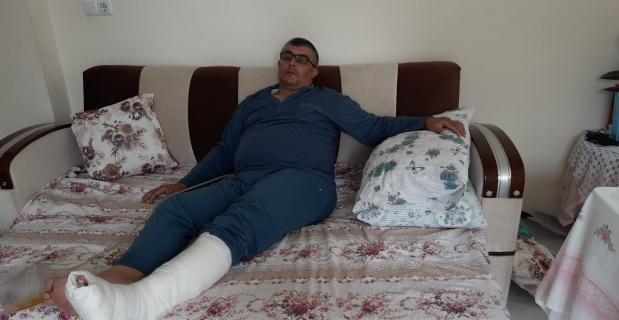 İhmal, piknikçi baba ve kızını hastanelik etti