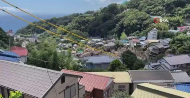 Japonya'yı vuran sel ve heyelan felaketinde ölü sayısı 18'e yükseldi