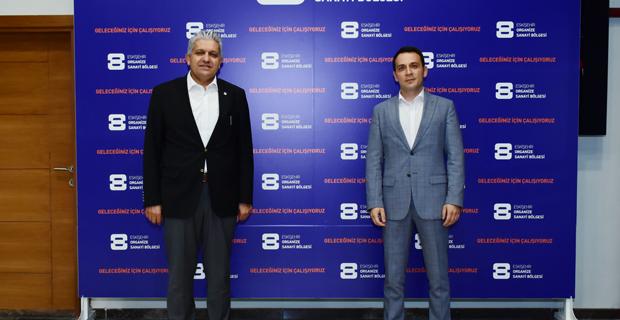 Küpeli Bulgaristan Ticaret Ataşesi ile görüştü