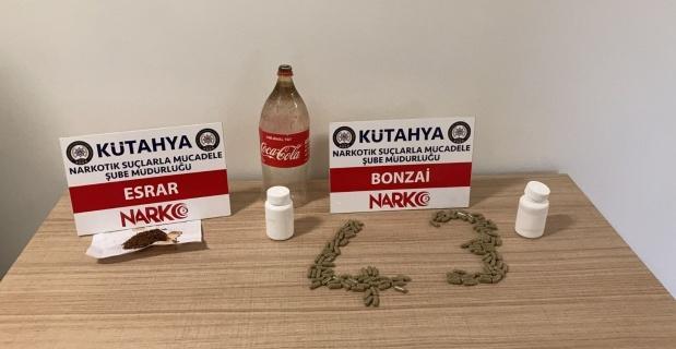 Kütahya'da uyuşturucu operasyonu