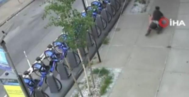 New York'ta sokak ortasında tecavüz girişimi