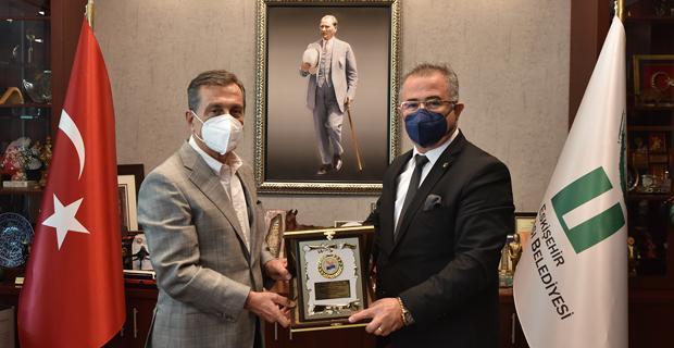 Özkara'dan Başkan Ataç'a Teşekkür