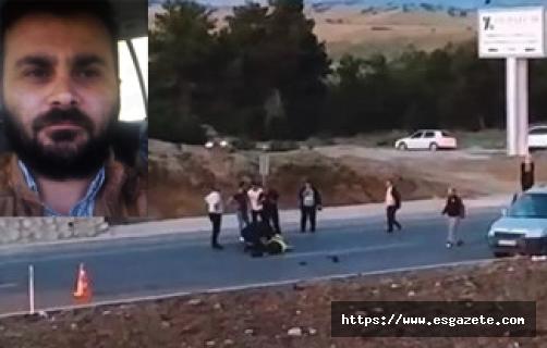 Polis memuru kaza geçirerek şehit oldu