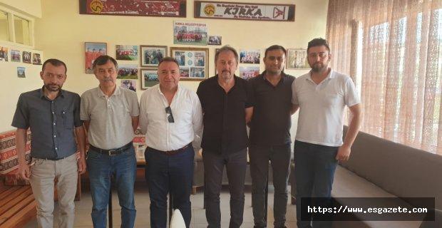 Sadri Atam ziyaretlerini sürdürüyor