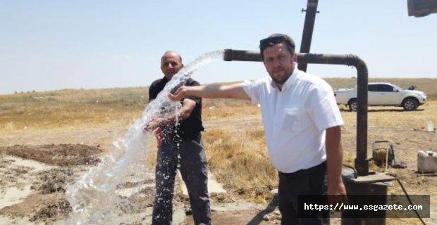 Satılmışoğlu'na Yeni Su Kaynağı