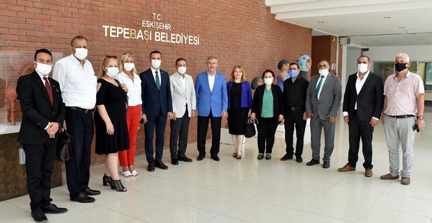 Selçuk Özdağ'dan Başkan Ataç'a Ziyaret