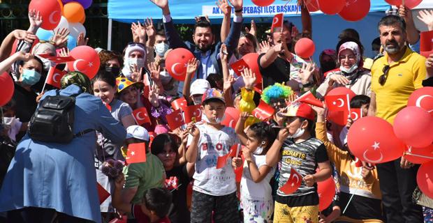 Tepebaşı'nda 222 çocuğun yüzü güldü