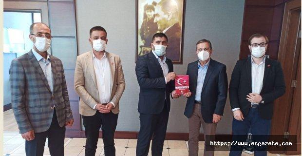Yeniden Refah Partisi'nden Ataç'a ziyaret