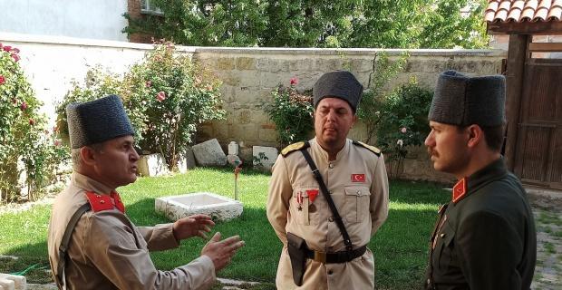 Zafere Giden Yol 2 kısa filminin çekimleri Şuhut'ta sürüyor