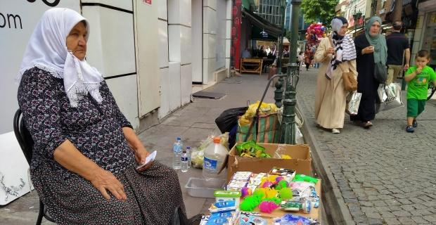 75 yaşındaki babaannenin torunları için verdiği örnek mücadele