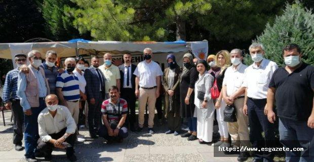 Ak Parti Odunpazarı'ndan aşure ikramı