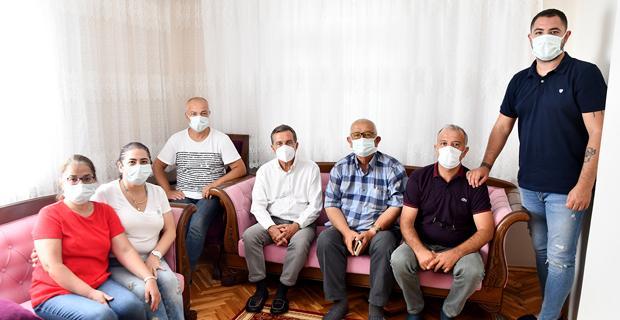 Başkan Ataç'tan Yörük'e Taziye Ziyareti