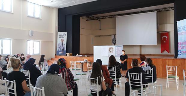 Çiftelerli kadınlara  kadın sağlığı eğitimi