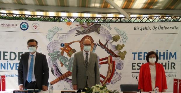 Eskişehir'de 3 üniversite rektörü anlattı