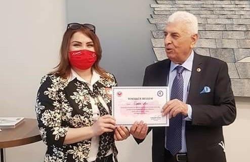 Türkiye'de temsil eden tek kadın muhtar