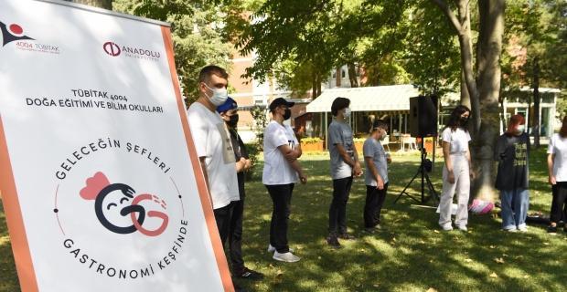 'Geleceğin Şefleri Gastronomi Keşfinde' projesinin ikinci dönem açılışı yapıldı