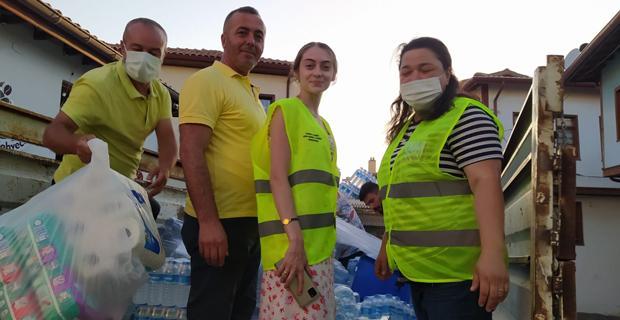 Gönüllülerden örnek kampanya