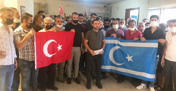 Irak Türklerinden fidan kampanyası