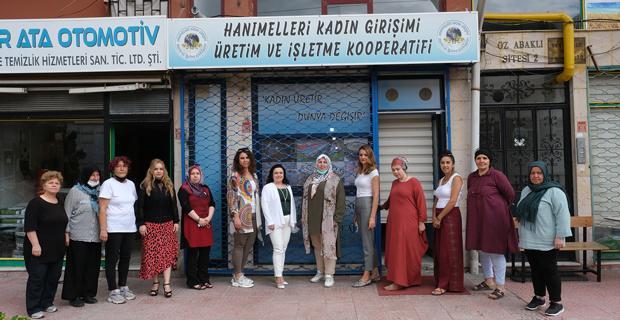 Kadın girişimciler kurulundan ziyaret turu