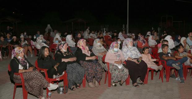 Mihalgazi'de sinema keyfi