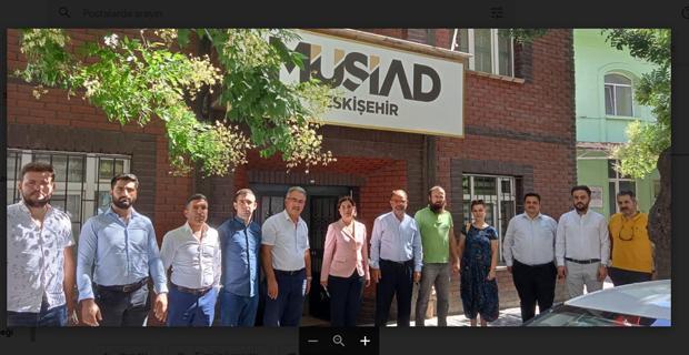 Süllü' den MÜSİAD' a ziyaret