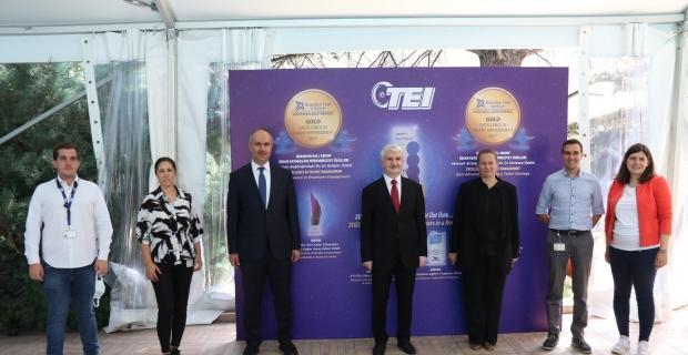 TEI uluslararası ödüllere doymuyor