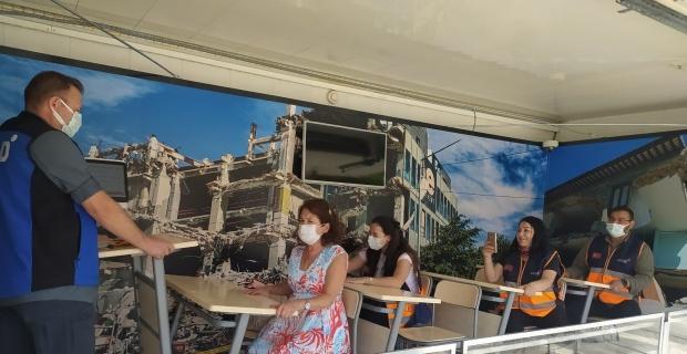AFAD Deprem Simülasyon Tırı Eskişehir'de