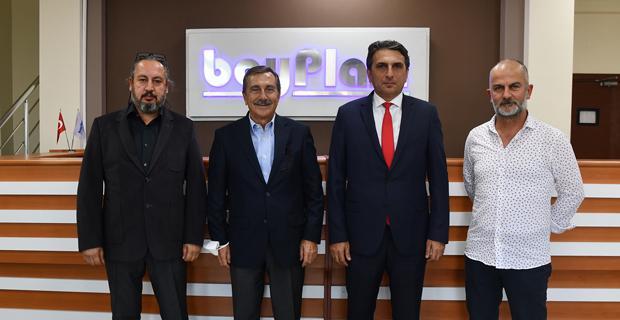 Başkan Ataç'tan Boyplast'a Ziyaret