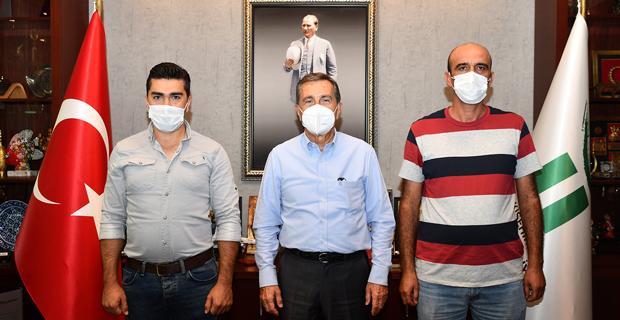 Başkan Ataç'tan Özverili Personele Tebrik