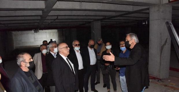 Başkan Bakkalcıoğlu belediye tesislerini tanıttı
